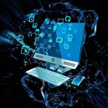 Logo buku referensi komputer internet