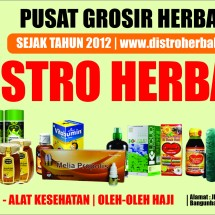 Logo Distro Herbal Indonesia
