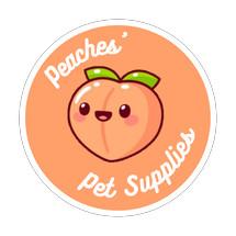 Logo Peaches Pet Supplies