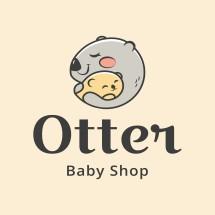 Logo Otter Baby Shop
