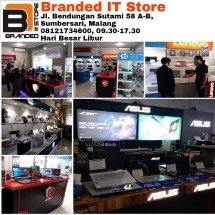 Logo BRANDED IT STORE MALANG