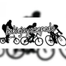 Logo toko sepeda hokie jaya