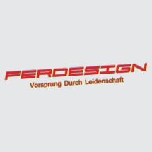Logo Ferdesign Sticker Works