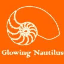 Logo Glowing Nautilus