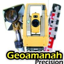 Logo Geoamanah Precision