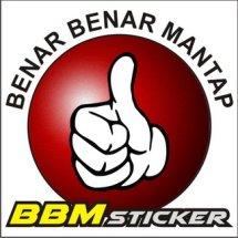 Logo BBM stiker