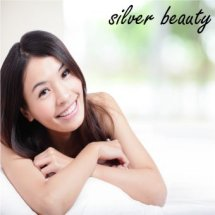 Logo silver beauty