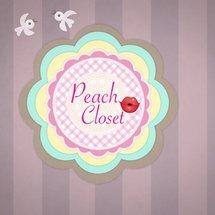 Logo Peach Closet