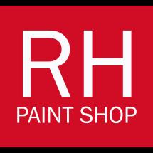 Logo RH PAINT SHOP