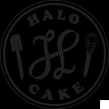 Logo Halo Cake