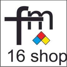 Logo FM 16 shop