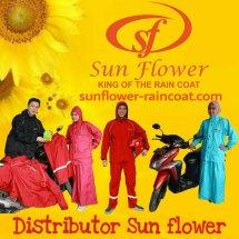 Logo Sunflower raincoat