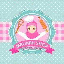 Logo Malikah Shop