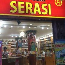 Logo Toko Obat Serasi
