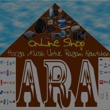 Logo A R A  OnLine Shop
