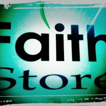 Logo faith store rohani