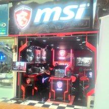 Logo MSI Store by Megastar
