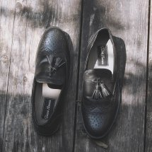 Logo Leather Shoes ID