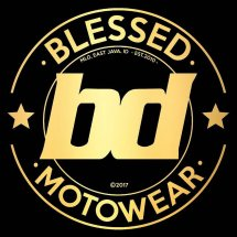 Logo Blessed Motowear