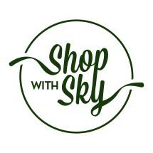 Logo Shop with Sky