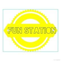Logo Fun Station