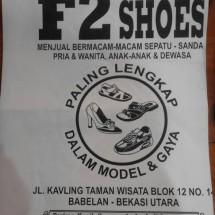 Logo F2 SHOES MARAKASH