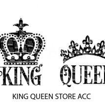 Logo King Queen Store Acc