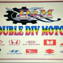 Logo double div motor