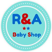 Logo R&A Baby Shop