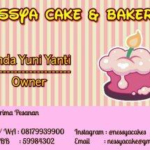 Logo Nessya Cake's