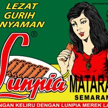 Logo Lunpia Mataram Semarang