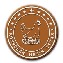 Logo Komponen Mesin Tetas