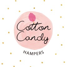 Logo cotton candy hampers