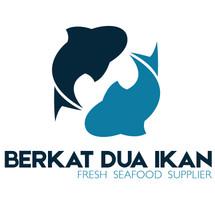 Logo Berkat Dua Ikan Seafood