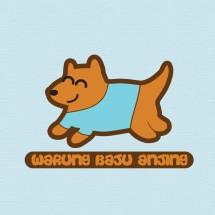 Logo Warung Baju Anjing