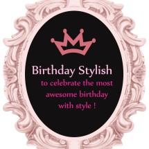 Logo Birthday Stylish