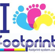 Logo footprintsystem