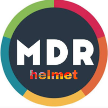 Logo MDR Helmet