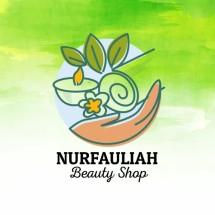Logo nurfauliah beauty shop