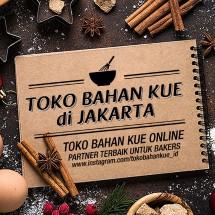 Logo Toko Bahan Kue Jakarta