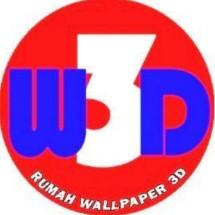Logo walpaper dinding 3d