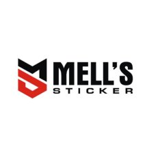 Logo Mells sticker