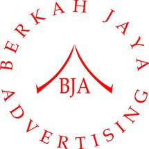 Logo berkah jaya advertising