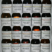 Logo pavettia essential oil