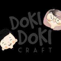 Logo Doki Doki Craft