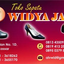 Logo Toko Sepatu Widya Jaya