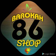 Logo barokah 86 shop
