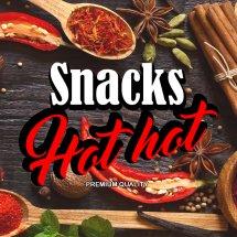 Logo Snacks Hot Hot