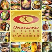 Logo Onanama Kue & Makanan
