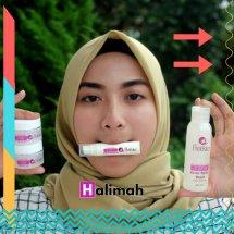 Logo halimah kosmetiku